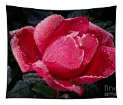 Frosted Rose Tapestry
