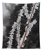 Frosty Branches Tapestry
