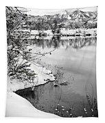 Frosty Flatirons Tapestry