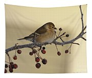 Frosty Perch Tapestry