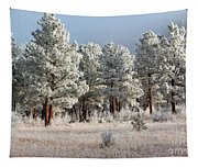 Frosty Pikes National Forest Tapestry