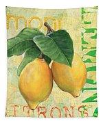 Froyo Lemon Tapestry by Debbie DeWitt