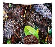 Frozen Oak Leaves, Glenveagh National Tapestry