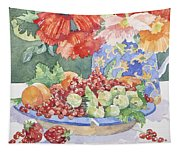 Fruit On A Plate Tapestry