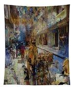 Fruit Seller  Tapestry