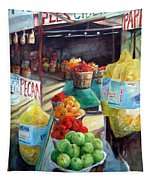 Fruitstand Rhythms Tapestry