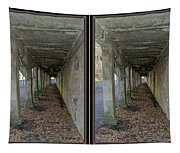 Ft. Howard Pk- Tunnel Effect - 3d Stereo X-view Tapestry