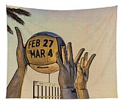 Ft Lauderdale Volleyball Time Tapestry
