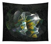 Abstract Full Moon Tapestry