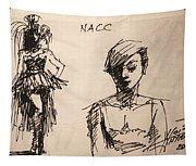 Fun At Art Of Fashion At Nacc 1 Tapestry
