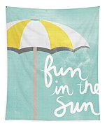 Fun In The Sun Tapestry by Linda Woods