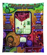 Fun Starts Here - Traveling Fair Tapestry