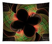 Funky Clover Tapestry