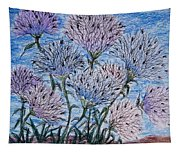 Funky Flowers Tapestry