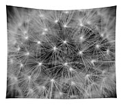 Fuzzy - Black And White Tapestry