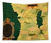 Gabon, Angola And Congo Tapestry