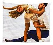 Gabriella Papadakis And Guillaume Cizeron Tapestry