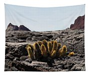 Galapagos Lava Cactus Tapestry