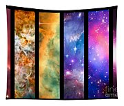 Space Rainbow Tapestry