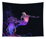 Galaxy Surfer 3 Tapestry