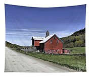 Gallop Road Barn Tapestry