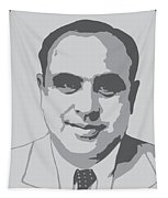 Gangster - Al Capone Tapestry