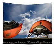 Gangster Ladybugs Nature Gone Mad Tapestry