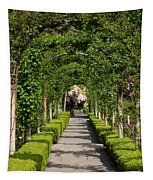 Garden Arbor Path Tapestry