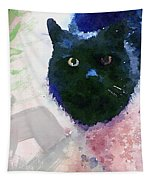 Garden Cat- Art By Linda Woods Tapestry