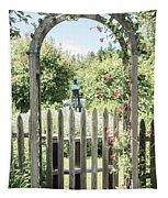 Garden Gate Tapestry