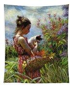 Garden Gatherings Tapestry