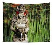 Garden In Bali Tapestry
