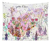 Garden Of Hope  Tapestry