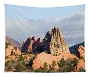 Garden Of The Gods Colorado Springs Tapestry