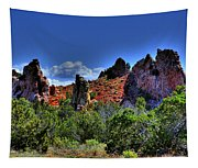 Garden Of The Gods Tapestry