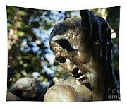 Garden Sculpture Tapestry