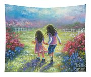 Garden Sisters Tapestry