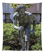 Garden Statue Ringling Museum  Tapestry
