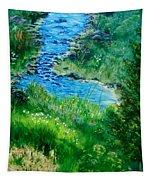 Garden Stream Tapestry