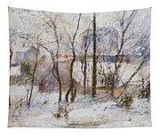 Garden Under Snow Tapestry