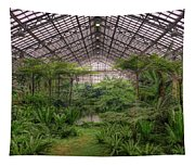 Garfield Park Conservatory Main Pond Tapestry