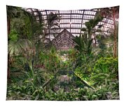 Garfield Park Conservatory Reflecting Pool Tapestry