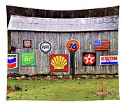 Gas From The Past Tapestry