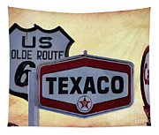 Gasoline Signs Tapestry
