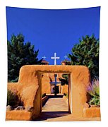 gate of church in Ranchos Tapestry