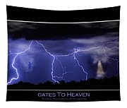 Gates To Heaven Color Poster Tapestry