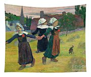 Gauguin, Breton Girls, 1888 Tapestry