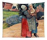 Gauguin: Breton Women, 1894 Tapestry