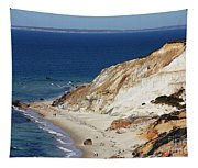 Gay Head Cliffs And Beach Tapestry