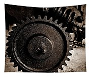 Gear And Screw Sepia 2 Tapestry